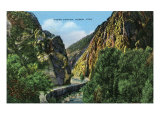 Ogden, Utah, View of Ogden Canyon Prints by  Lantern Press