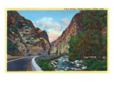 Ogden, Utah, Ogden Canyon View of Trout Stream Poster
