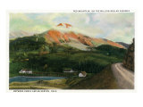 Colorado, Million Dollar Hwy View of Red Mountain between Ouray and Silverton Prints by  Lantern Press
