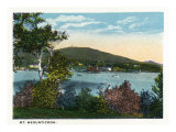 Camden, Maine, View of Mount Megunticook and Lake Prints by  Lantern Press
