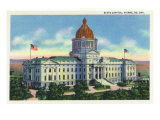 State Capitol, Pierre, South Dakota, Art Print
