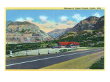 Ogden, Utah, View of the Entrance to Ogden Canyon Prints by  Lantern Press