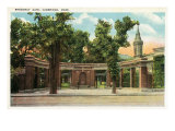 Cambridge, Massachusetts, View of the Broadway Gate Poster by  Lantern Press