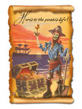 Pirate with Plunder Posters by  Lantern Press