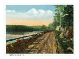 Camden, Maine, View of Turnpike Drive Prints by  Lantern Press
