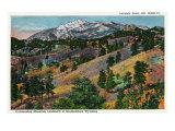 Wyoming, Scenic View of Laramie Peak Prints