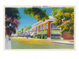 Newport, Rhode Island, View of Bellevue Prints by  Lantern Press