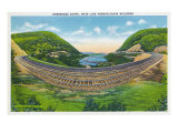 Pennsylvania, View of the Main Line PA Railroad Horseshoe Curve Posters by  Lantern Press