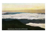 White Mountains, New Hampshire, Sunrise View on Mount Washington Posters