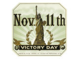 November 11th Victory Day Brand Cigar Outer Box Label Prints