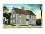 Groton, Connecticut, Exterior View of Ye Ebenezar Avery House Prints
