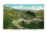 Wyoming, Lincoln Highway View of Eagle Rock East of Evanston Prints by  Lantern Press