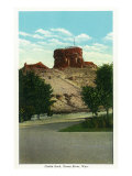 Green River, Wyoming, View of Castle Rock Posters by  Lantern Press