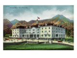 Rocky Mountain National Park, Colorado, Exterior View of the Stanley Hotel, Estes Park Posters