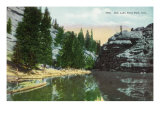 Rocky Mountain National Park, Colorado, View of Gem Lake in Estes Park Poster by  Lantern Press