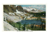 Wyoming, View of Lake Marie and Snowy Range Prints