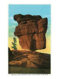 Colorado Springs, Colorado, View of Balanced Rock Posters by  Lantern Press