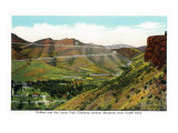 Colorado, View of Golden and the Lariat Trail from Castle Rock Prints by  Lantern Press