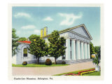 Arlington, Virginia, Exterior View of the Custis-Lee Mansion Prints