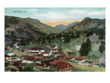 Rocky Mountain National Park, Colorado, General View of Estes Park Posters by  Lantern Press