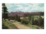 Rocky Mountain National Park, Colorado, View of Long's Peak from Estes Park Prints by  Lantern Press