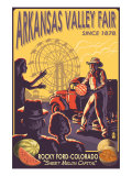 Rocky Ford, Colorado, Arkansas Valley Fair Prints by  Lantern Press