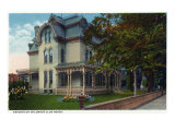 Binghamton, New York, Exterior View of the Knights of Columbus Club House Posters by  Lantern Press