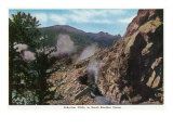 Colorado, View of the Gibraltar Cliffs in the South Boulder Canyon Prints by  Lantern Press