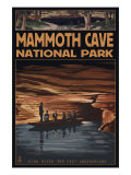 Mammoth Cave National Park, Kentucky, Echo River Prints by  Lantern Press