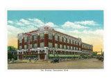 Hershey, Pennsylvania, Exterior View of the Hershey Department Store Art