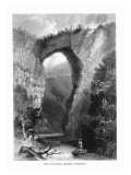Virginia, View of the Natural Bridge and Cedar Creek Print