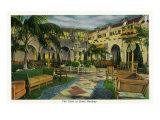 Hershey, Pennsylvania, View of the Hotel Hershey Patio Prints