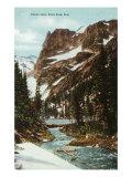 Rocky Mountain National Park, Colorado, View of Odessa Lake, Estes Park Prints