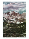 Rocky Mountain National Park, Colorado, Panoramic View of Long's Peak in Estes Park Prints by  Lantern Press