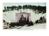 Colorado, View of the West Portal of the Moffat Tunnel, Train Posters by  Lantern Press