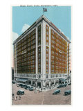 Davenport, Iowa, Exterior View of the Black Hawk Hotel Posters