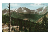 Rocky Mountain National Park, Colorado, View of Mt. Ypsilon from Deer Mt. Drive, Estes Park Posters by  Lantern Press