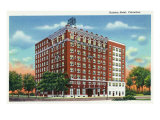 Columbus, Georgia, Exterior View of the Ralston Hotel Prints