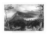 Catskill Mountains, New York, View of Two Lakes and the Mountain House Posters