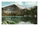 Rocky Mountain National Park, Colorado, Bear Lake View of Long's Peak, Estes Park Print by  Lantern Press