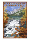 Rocky Mountain National Park, Colorado, Lake Scene Art