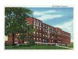 Columbus, Georgia, Exterior View of City Hospital Prints