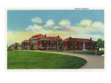 Fort Knox, Kentucky, Exterior View of the Station Hospital Prints