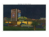 Las Vegas, Nevada, Exterior View of Club Bingo Print by  Lantern Press