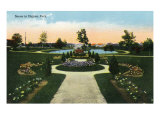 Jacksonville, Florida, Scenic View of Dignan Park Art