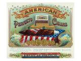 American Perfecto Cigars Brand Cigar Box Label Posters