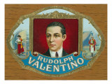 Rudolph Valentino Brand Cigar Inner Box Label Posters