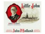 Little John Brand Cigar Box Label, John P. Holland, Inventor of the Submarine Posters