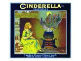 Garden Grove, California, Cinderella Brand Citrus Label Posters