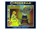 Garden Grove, California, Cinderella Brand Citrus Label Posters by  Lantern Press